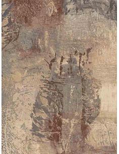 Абстрактен килим в пастелни цветове-1