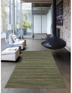 Релефен килим Brighton в зелен цвят-1