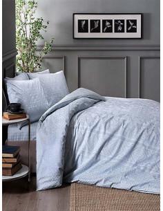 Двоен спален комплект TAC Saten Fabian Mint-1
