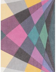 Килим Pastel с цветни геометрични фигури-1
