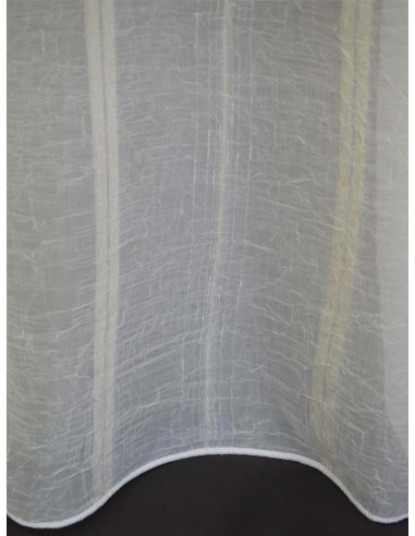 Перде с дизайн на кремави линии-1