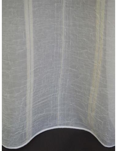 Перде с дизайн на кремави вертикални линии-1