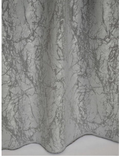 Завеса в два нюанса сив цвят с мраморен ефект-1