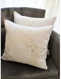Комплект декоративни възглавници в слонова кост-1