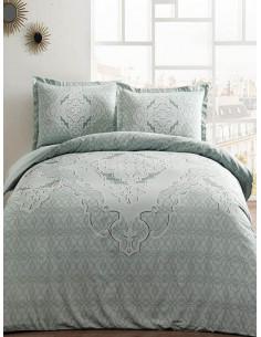 Спален комплект TAC Olivia Saten в тюркоазен цвят-1