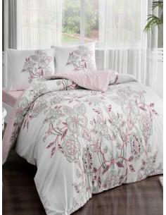Спален комплект TAC Lucy Ranforce с дизайн на цветя-1