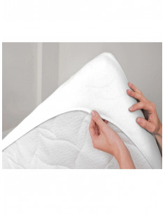 Непромокаем памучен протектор за матрак 80 на 200см-1