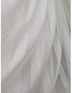 Плат за тънко перде с широки вертикални райета-1