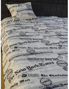 Шалте за единично легло с подарък възглавница-1