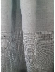 Полупрозрачен плат за перде в тюркоазен цвят-1