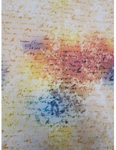 Принт с надписи в ярки цветове-2