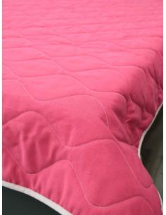 Капитонирано шалте в цикламен цвят-1