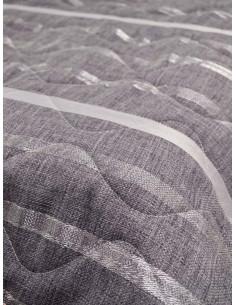 Шалте в лилав цвят със сиво лилави линии-1