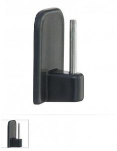 Лепенки за телескопични релси в кафяв цвят-1