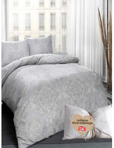 Единичен спален комплект TAC Mirabel Ranforce + подарък-1