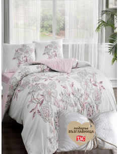 Единичен спален комплект TAC Ranforce Lucy + подарък-1