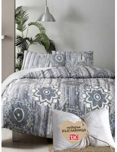 Единичен спален комплект Tac Ranforce Avel + подарък-1