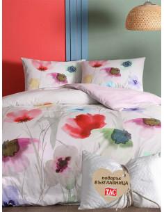 Двоен спален комплект TAC Ranforce Belinda + подарък-1