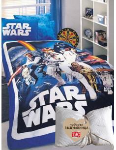 Спален комплект TAC STAR WARS + подарък-1