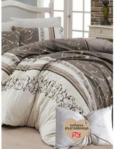 Двоен спален комплект FIRST CHOICE Ranforce Eshe + подарък-1