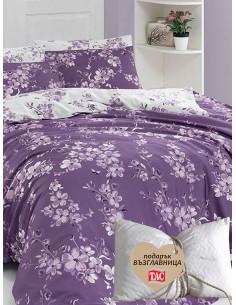Двоен спален комплект FIRST CHOICE Ranforce Dilara + подарък-1