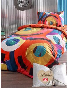 Единичен спален комплект TAC Ranforce Motion + подарък-1