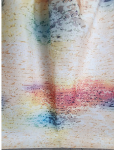 Плътна завеса с надписи в ярки цветове-1