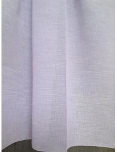 Прозрачни тънки едноцветни ленени пердета-1