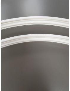 Двойна огъваща се пластмасова релса 506 за пердета-1