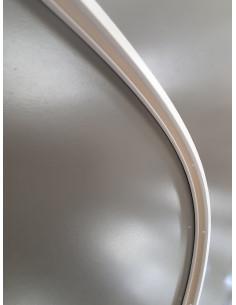 Единична огъваща се пластмасова релса 507 за пердета-1