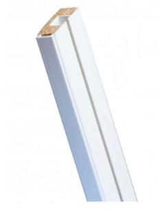 Единична релса за пердета с дървен пълнеж SM-1