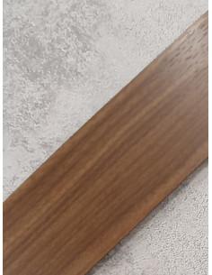 Бленда за ПВЦ релса в цвят орех-1