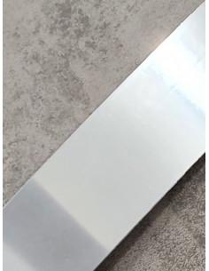 Бленда за ПВЦ релса в цвят хром-1