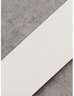 Бленда за ПВЦ релса в цвят бяла-1