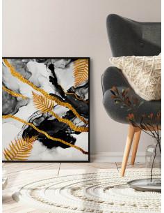 Тапет Бестселър 3 финна мрежа в бежов цвят-1