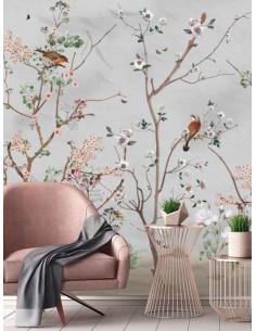Фототапет ADAWALL AMAZON на цветя и птички-1