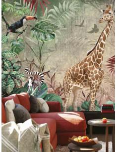 Фототапет ADAWALL с жираф за акцент-2