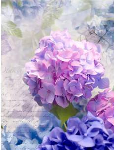 Фототапет с лилави цветя Otaksa-1