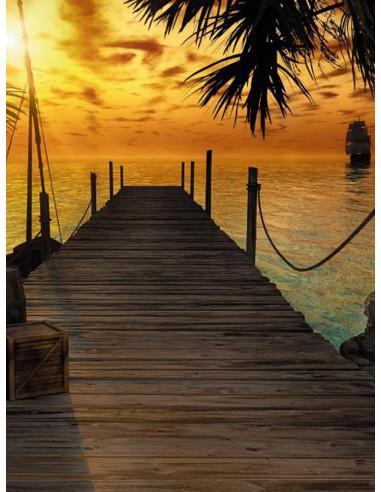 Фототапет Острова на съкровищата-2