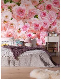 Фототапет с разцъфнали рози-1