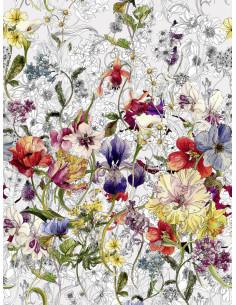 Фототапет пъстри цветя-1