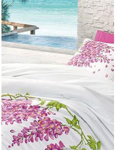 Единичен спален комплект AGLIKA Ranforce Circle-1