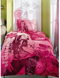 Единичен спален комплект TAC Ranforce Hannah Montana-1