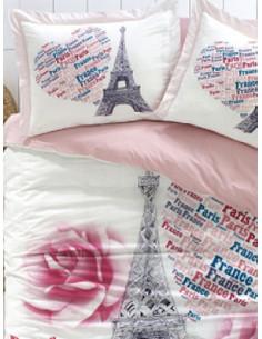 Единичен спален комплект CITYLEEP 3D PAMUK PARIS LIFE-1