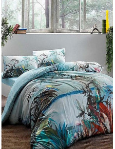 Двоен спален комплект TAC Bamboo Natural-1