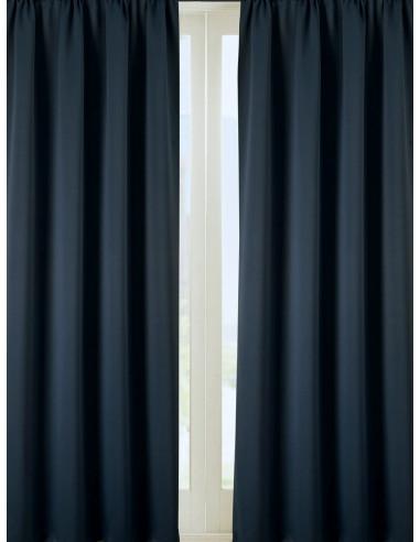Готова завеса блекаут в петролено синьо 2.50x2.50м.-1