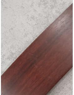 Бленда за ПВЦ релса в цвят махагон-1