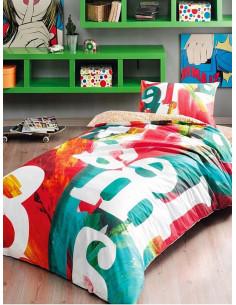 Единичен спален комплект Tac Pop Art-1