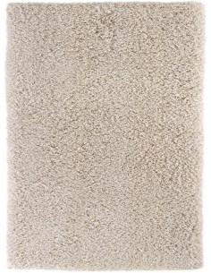Едноцветен рошав килим Savona в пясъчен цвят 160x230см.-1