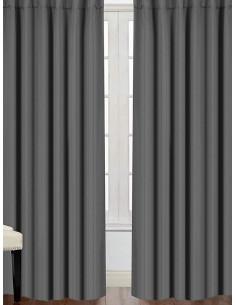Готова завеса блекаут в сив цвят 2.50x2.50м.-1